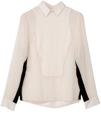 Rag and Bone Back Button Tux Shirt