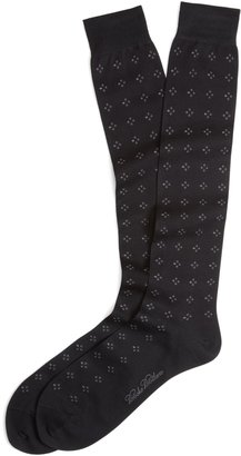 Brooks Brothers Double Neat Over-the-Calf Socks