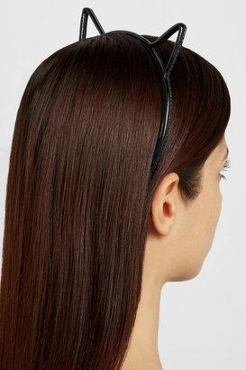 Eugenia Kim Josie patent-leather cat ear headband