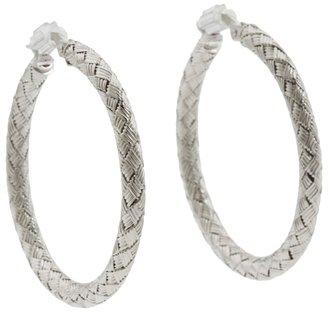 Roberto Coin Lare Woven Hoop Earrin Earrin