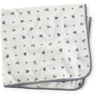 Ralph Lauren Bear-Print Blanket
