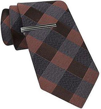 JCPenney JF J. Ferrar® Checkered Plaid Tie