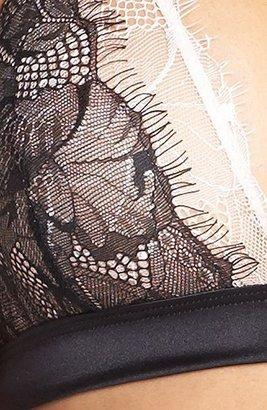 Mimi Holliday 'Blossom Noir' Triangle Bra