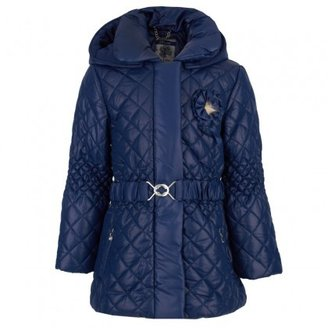 Mayoral Blue Quilted Puffer Coat