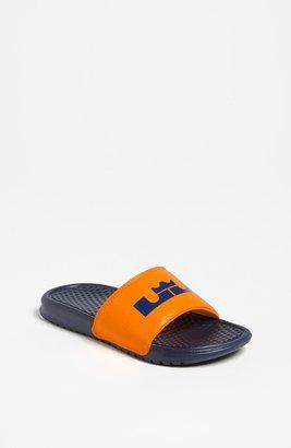 Nike 'Lebron James - Benassi' Sandal (Toddler, Little Kid & Big Kid)