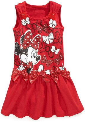 Disney Girls Dress, Little Girls Minnie Mouse Dress