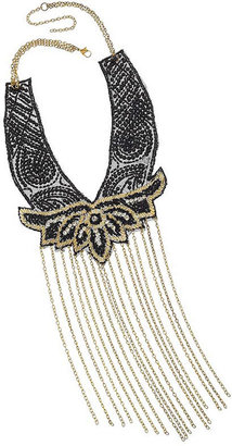 Topshop Seed Bead Chains Collar