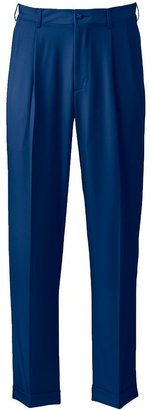 Big & Tall Grand Slam Performance Easy-Care Double-Pleated Golf Pants $80 thestylecure.com