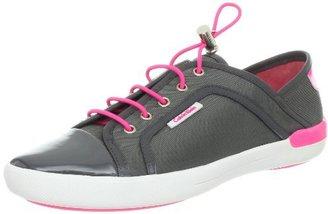 Calvin Klein Women's Nia Sport Nylon Patent Suede Fashion Sneaker