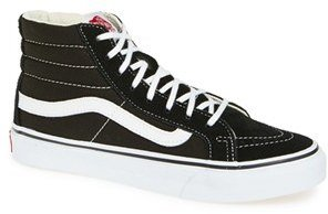 Women's Vans Sk8-Hi Slim High Top Sneaker $64.95 thestylecure.com