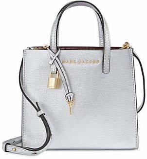 Marc Jacobs Grind Leather Mini Crossbody Bag