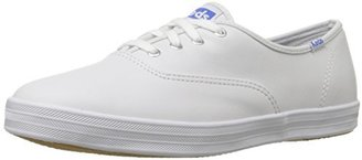 Keds Women's Champion Original Leather Sneaker $50 thestylecure.com