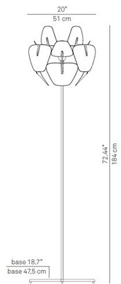 Luceplan Hope Floor Lamp
