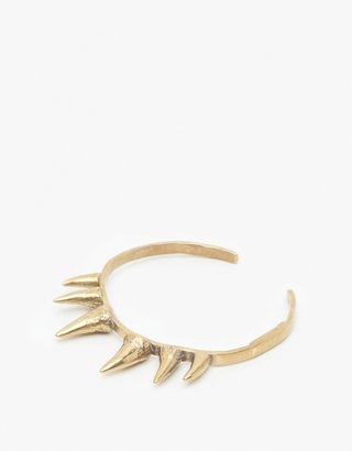 K/LLER Collection Brass Stalactite Cuff
