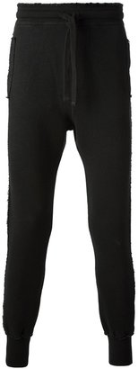 Dolce & Gabbana distressed track pants