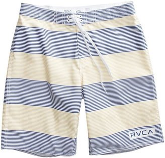 RVCA Civil Stripe Boardshort Yellow