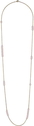 Topshop Rose Bead Gold Chain