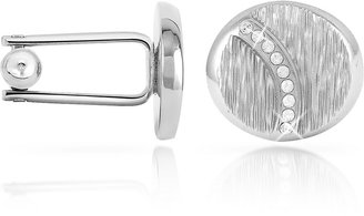 Forzieri Textured Oval Cuff Links