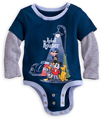 Disney Mickey Mouse and Friends Cuddly Bodysuit for Baby