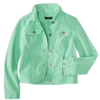 Mossimo Petites Long-Sleeve Denim Jacket - Assorted Colors