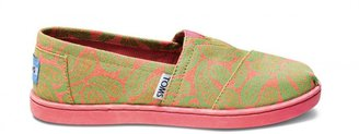 Toms Green paisley youth classics