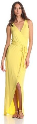 LAmade Women's Belted and Flowy Tank Maxi Dress