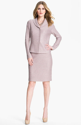 St. John Madison Tweed Skirt