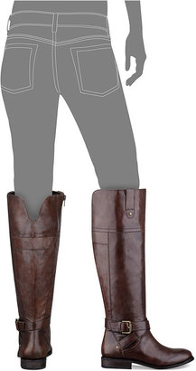 Marc Fisher Amber Tall Wide Calf Riding Boots