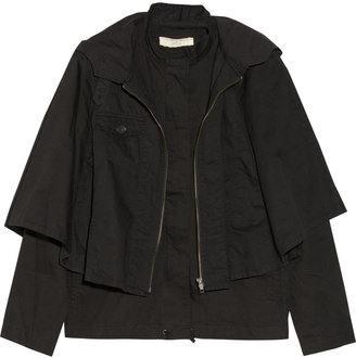 Vanessa Bruno Cotton cape jacket