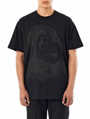 Givenchy Madonna-print star embellished T-shirt