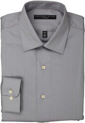 Geoffrey Beene Men's Textured Stripe Solid Shirt