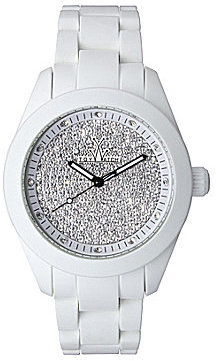 Toy Watch TOYWATCH Velvety Pave Dial White Watch