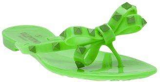 Valentino Garavani 'Rockstud' thong sandal