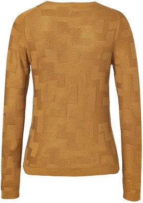 Jil Sander Navy Silk-Cashmere Pullover