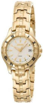 Seiko Women's SXDA30 Dress Gold-Tone Watch $125 thestylecure.com