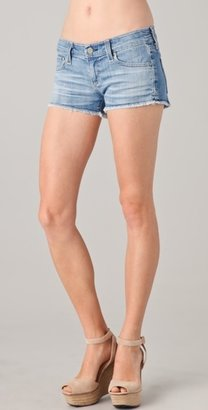 AG Adriano Goldschmied Daisy Super Low Rise Denim Shorts
