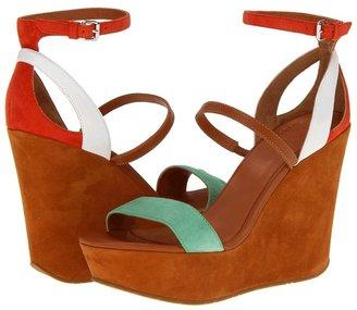 Marc by Marc Jacobs Color Weave Sandal Wedge (Orange/Tan/White/Green/Nude) - Footwear