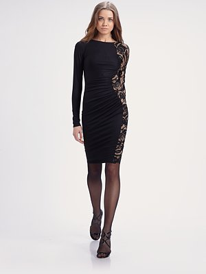 Emilio Pucci Lace Inset Dress