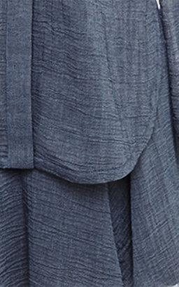 Derek Lam 10 Crosby Trompe L'Oeil Shirtdress