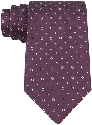 Kenneth Cole NEW YORK Dot Printed Silk Tie