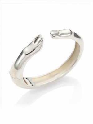 Delfina Delettrez Anatomik Finger Mood Sterling Silver Bracelet