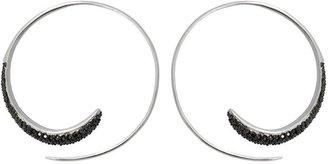 Tom Binns wavy hoop earrings