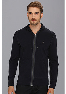 John Varvatos L/S Zip Peace Sign Hoodie