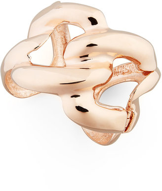 Kenneth Jay Lane Rose Golden Chain Link Cuff