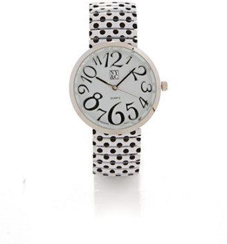 New York & Co. Polka-Dot Watch
