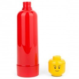 Lego Accessories Red Drinking Bottle