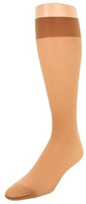 Wolford Individual 10 Knee-Highs (Sand) Women's Knee High Socks Shoes