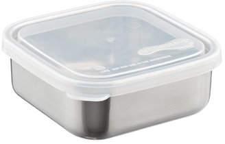 Container Store 18 oz. Square-to-Go Container Stainless Steel