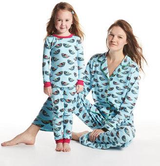 BedHead Pearl Jewel Bird Pajamas, Turquoise, Sizes 2-8