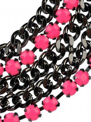 Adia Kibur Chain and Stone Necklace